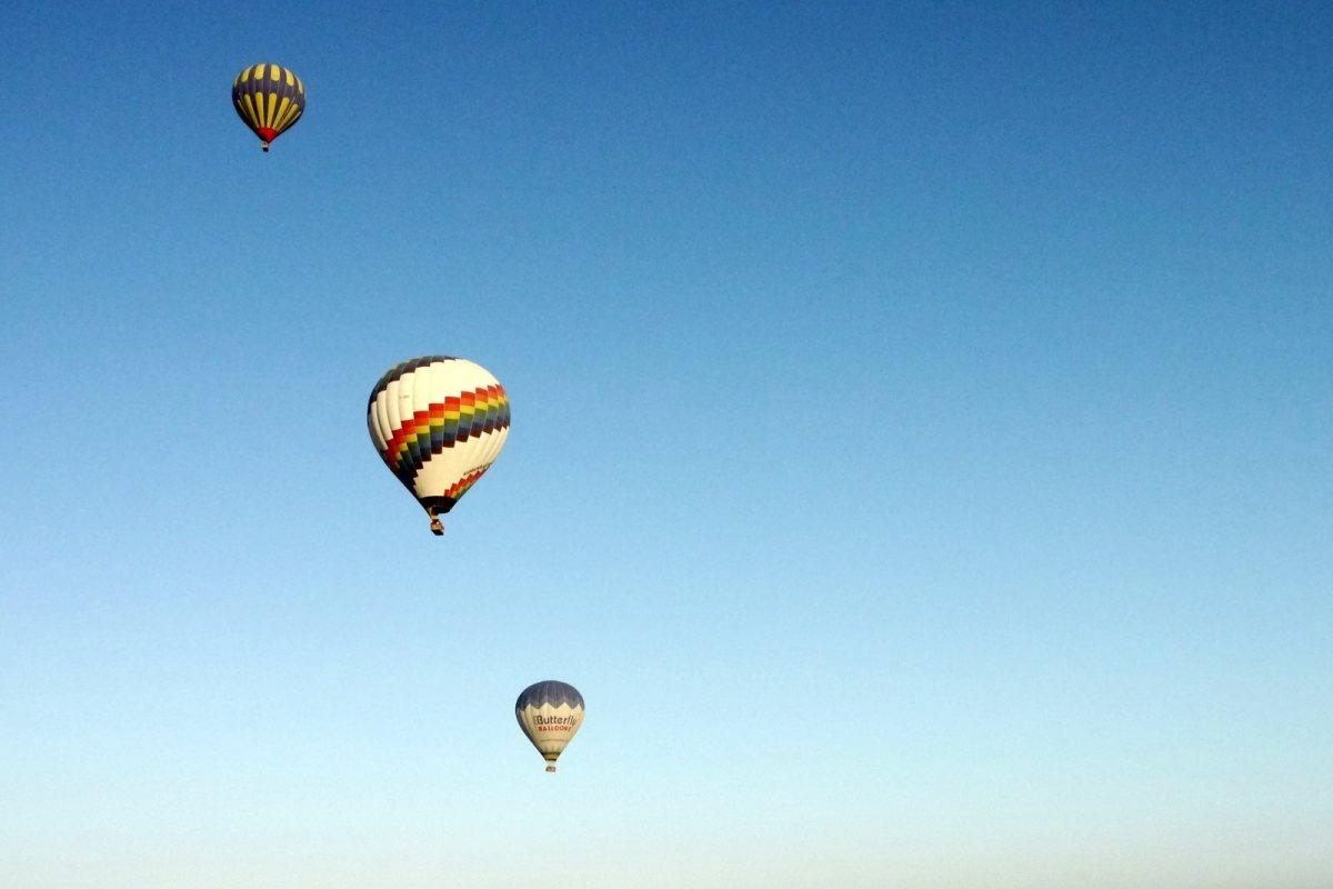 Kapadokya (Cappadocia): Flight of my life