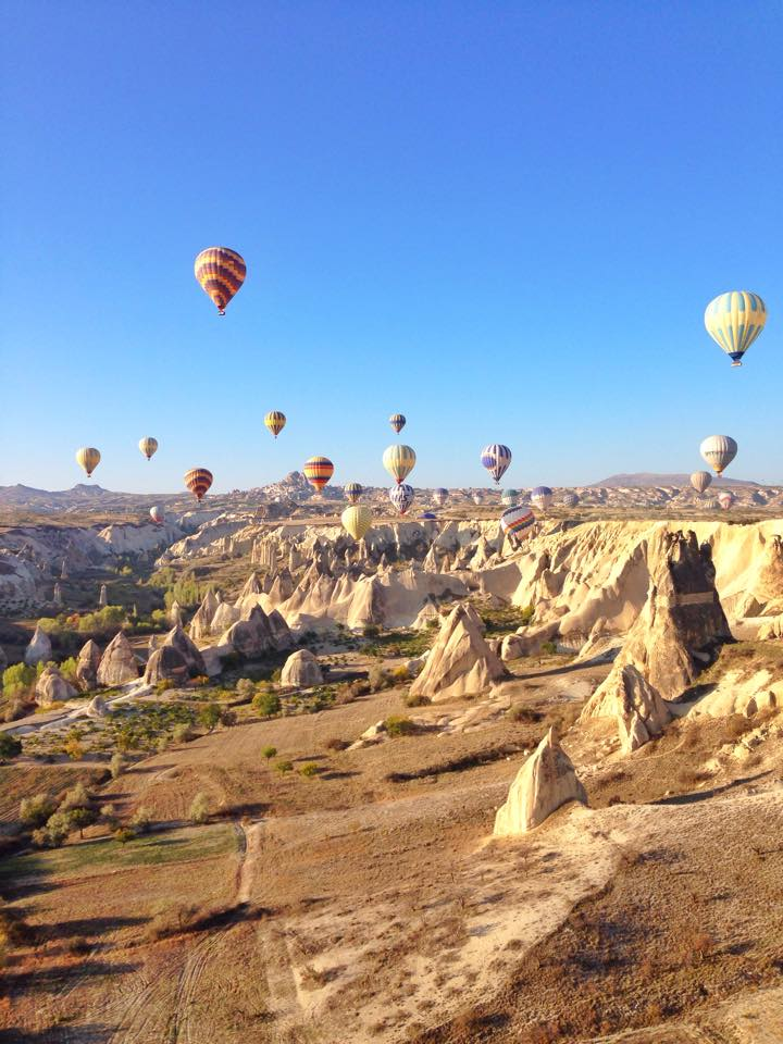 hot air balloons kapadokya cappadocia turkey