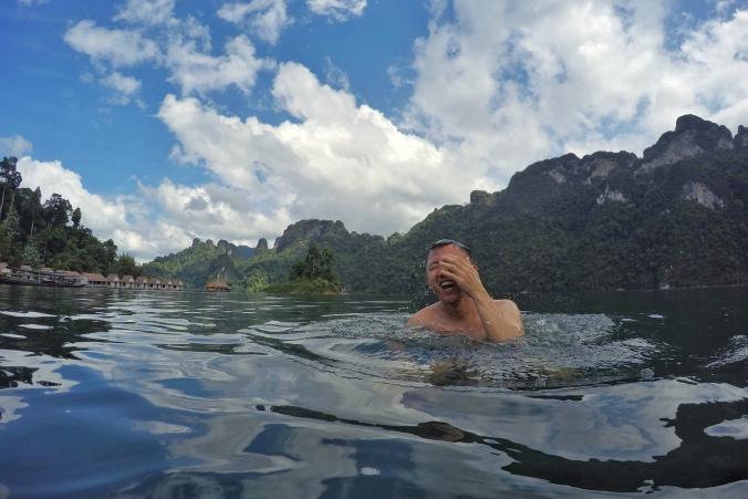 cheow lan lake khao sok thailand