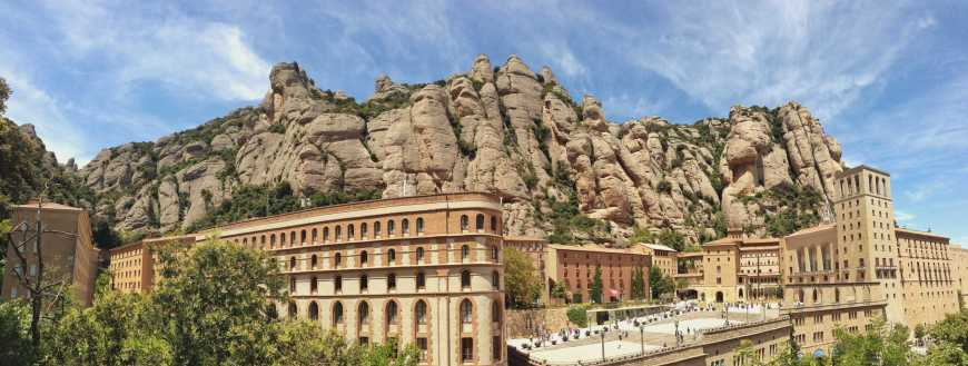Santa Maria de Montserrat barcelona spain