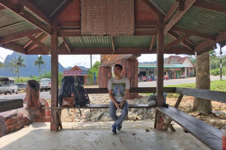 khao sok bus stop