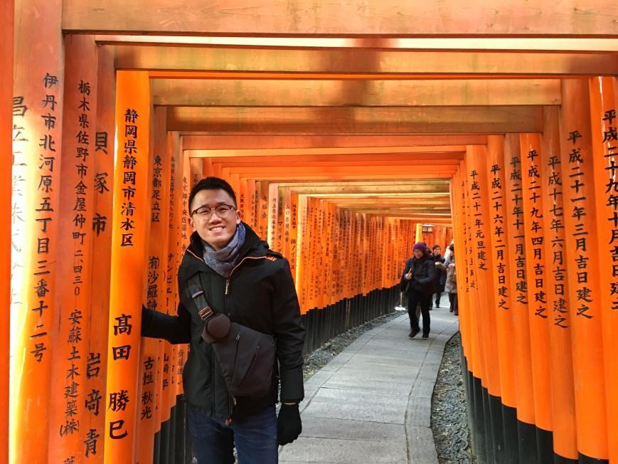 fushimi inari kyoto japan