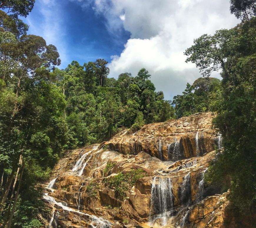 sungai pandan waterfall panching kuantan pahang malaysia