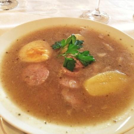 Zurek (Polish sour rye soup)
