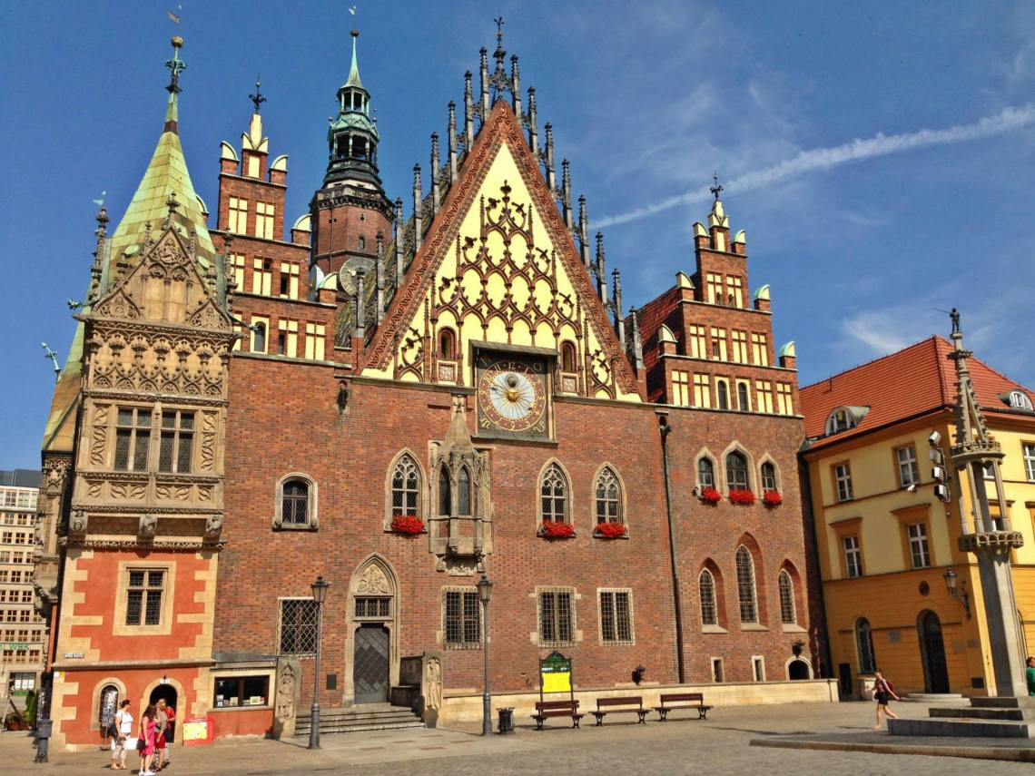 wroclaw townhall poland