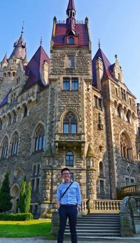 Zamek Moszna tower
