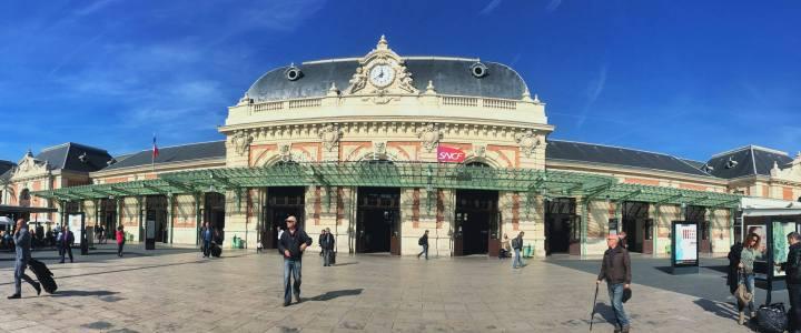 nice train station france