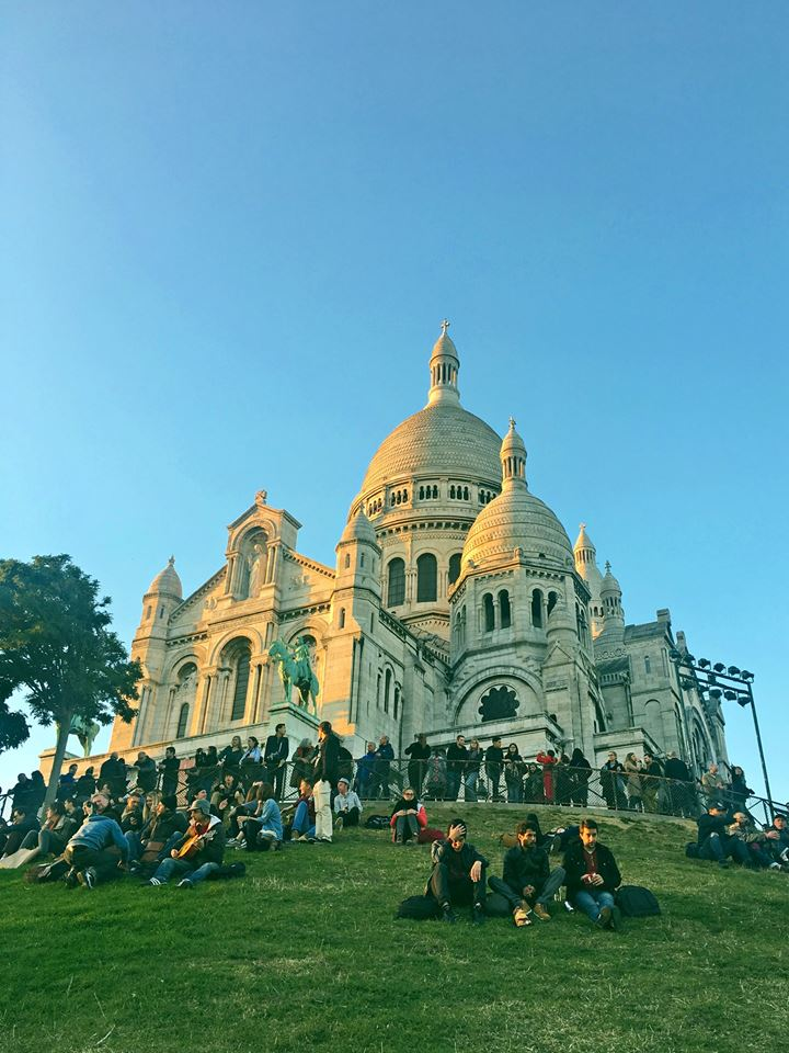 Sacre Coeur basilica paris france
