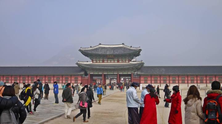 Gyeongbokgung seoul south korea