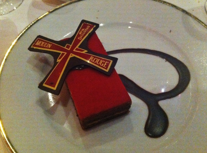 moulin rouge opera cake paris france