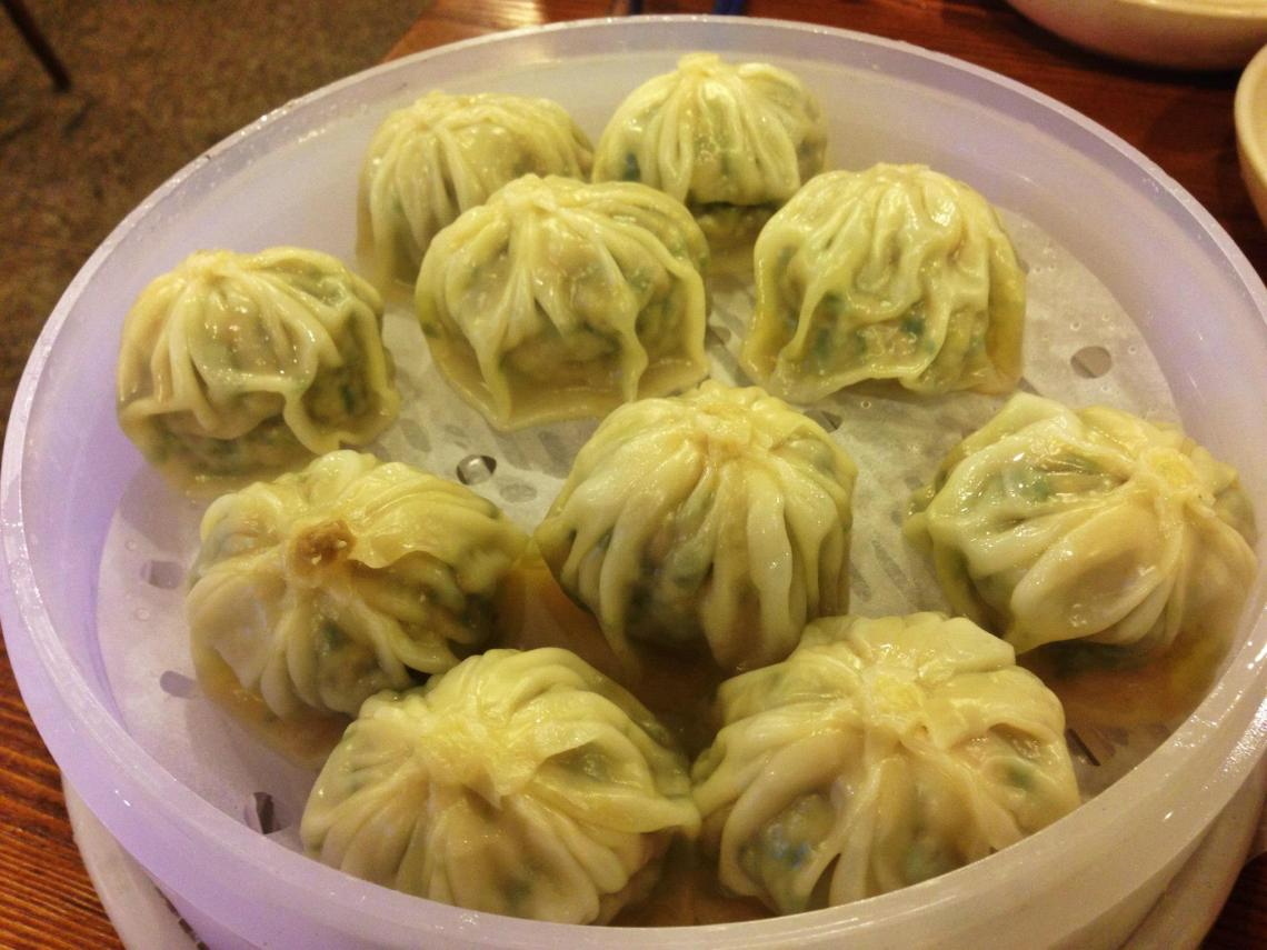Myeongdong dumplings seoul south korea