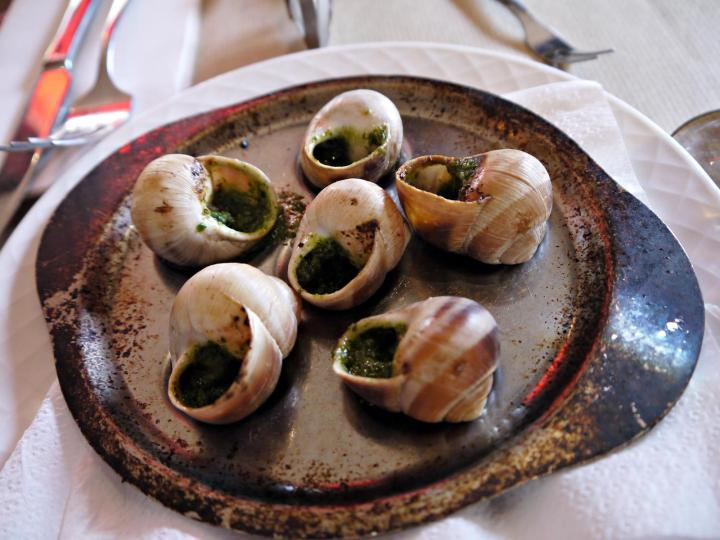 escargots paris france