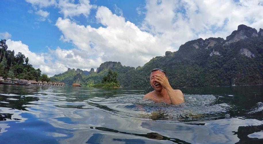 Cheow lan lake krabi thailand