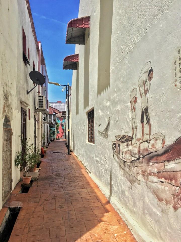 street art jonker street melaka