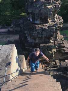 baphuon stairs second level siem reap cambodia jermpins