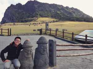 Seongsan Ilchulbong jeju south korea