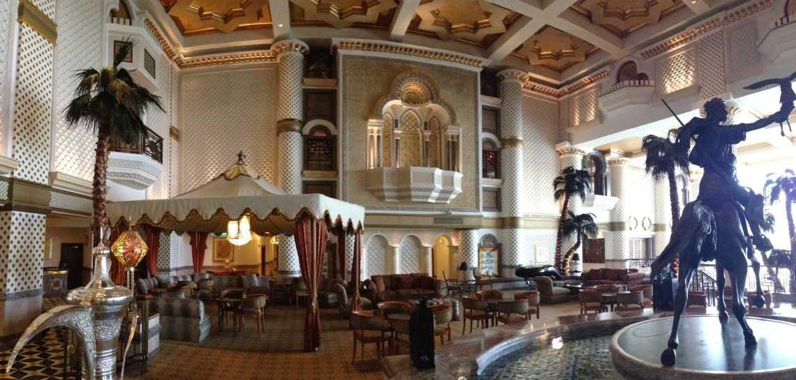 Grand Hyatt lobby muscat oman jermpins