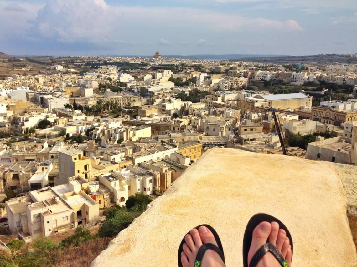 Gozo panorama from Citadella of Rabat malta jermpins