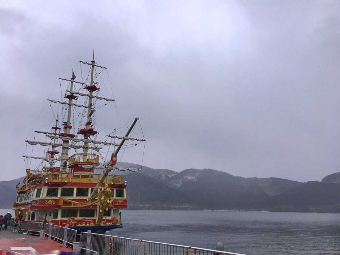 Hakone Sightseeing Cruise japan jermpins