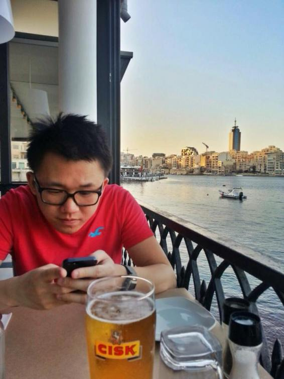 Try Cisk, the local Maltese beer