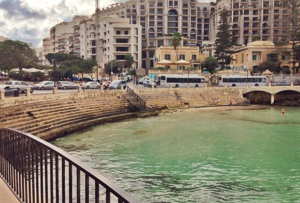 Balluta bay access to the waters malta jermpins