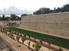 Mdina, the moat