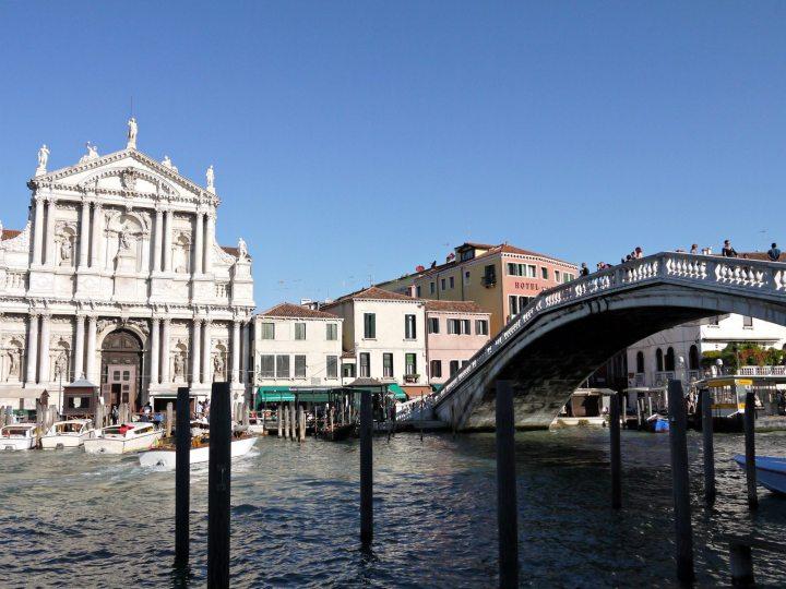 Across the Ponte degli Scalzi venice italy jermpins