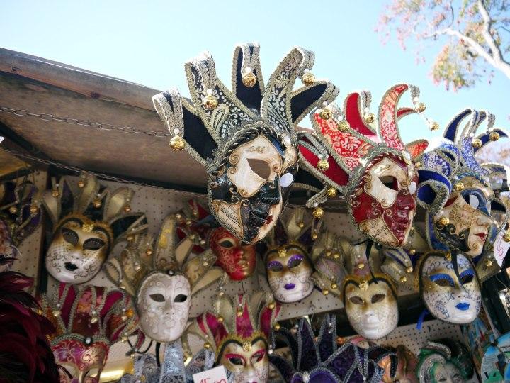 Venetian masks venice italy jermpins