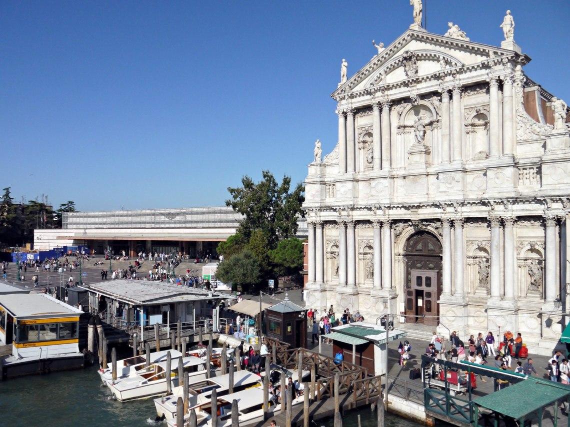 Venezia Santa Lucia train station venice italy jermpins