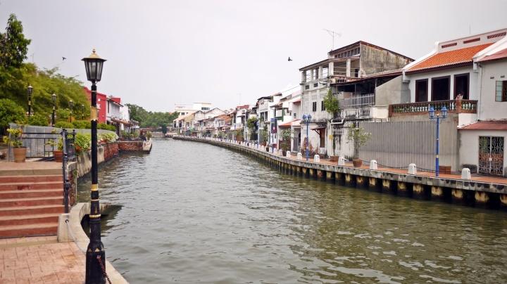 Melaka river canal