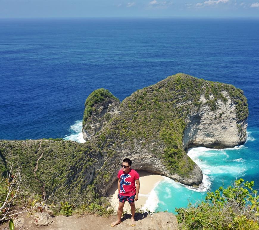 Kelingking beach, Nusa Penida jermpins