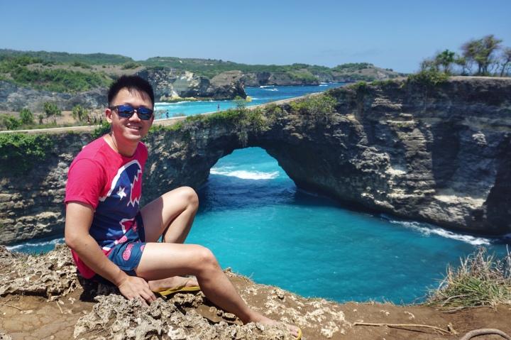 Broken beach, Nusa Penida jermpins