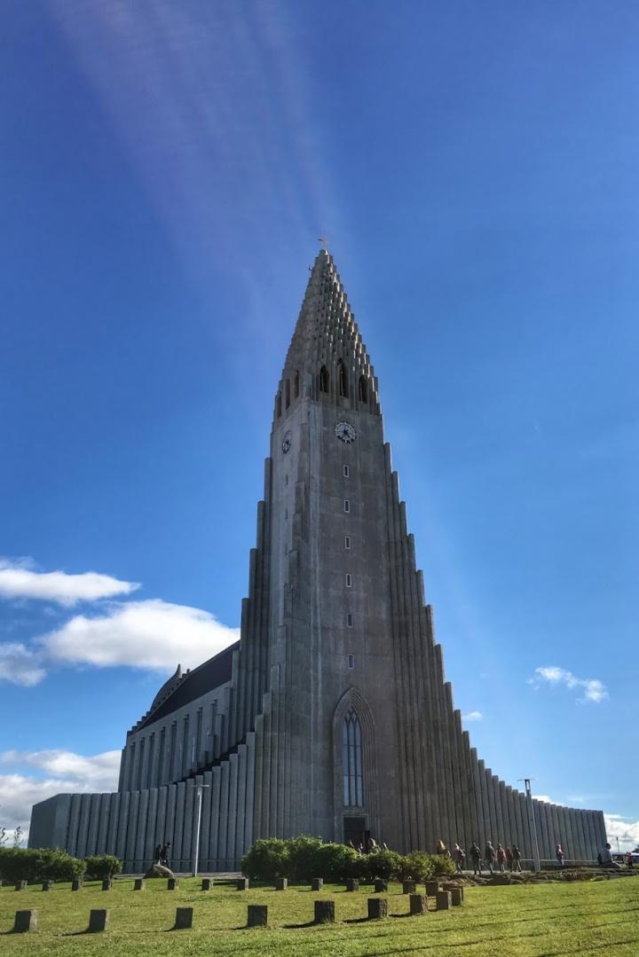 jermpins iceland Hallgrímskirkja church