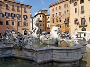 Fontana del Nettuno (Fountain of Neptune), Rome