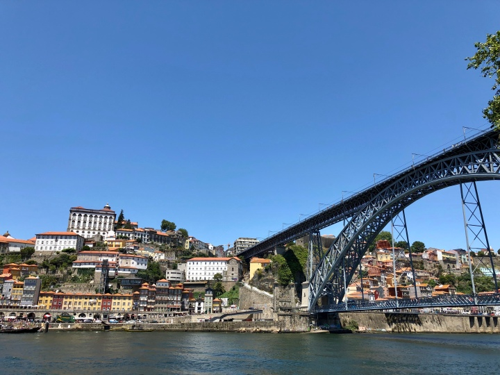 jermpins Dom Luis I Bridge from Vila Nova de Gaia (lower) Porto
