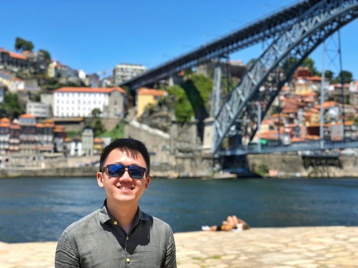 jermpins Dom Luis I Bridge from Gaia lower Porto