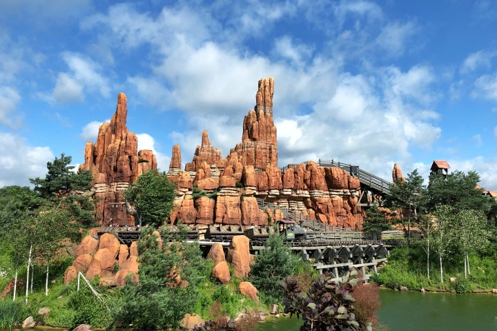 jermpins Big Thunder Mountain disneyland paris france