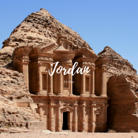 Petra, Jordan (Source: Wikimedia Commons)