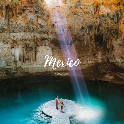 Yucatan, Mexico (Source: https://funlifecrisis.com/best-cenotes-yucatan-mexico/)