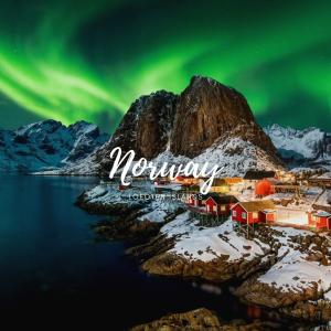 Lofoten Islands, Norway (Source: https://www.shutterstock.com/image-photo/aurora-borealis-over-hamnoy-norway-1504345343)